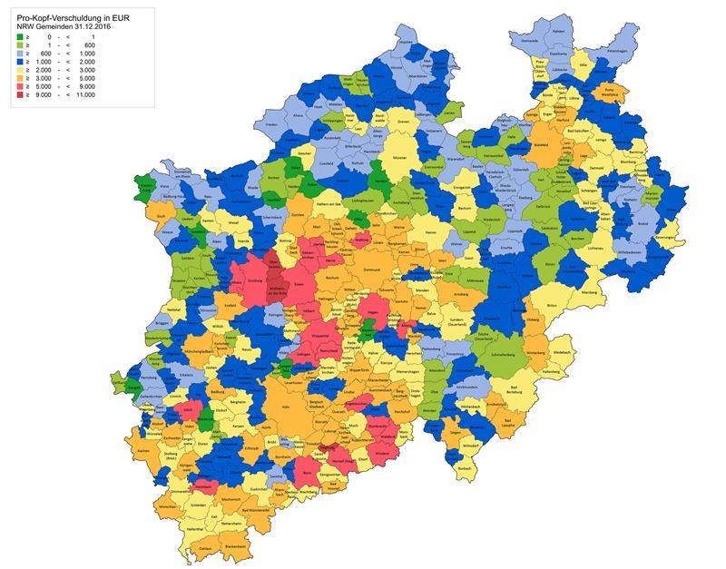 Verschuldung Der Nrw Stadte Liegt Vor Wahlergemeinschaft Velbert